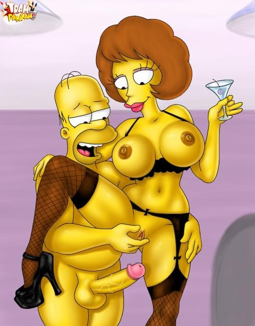 Free naked simpsons, nude girl with collar