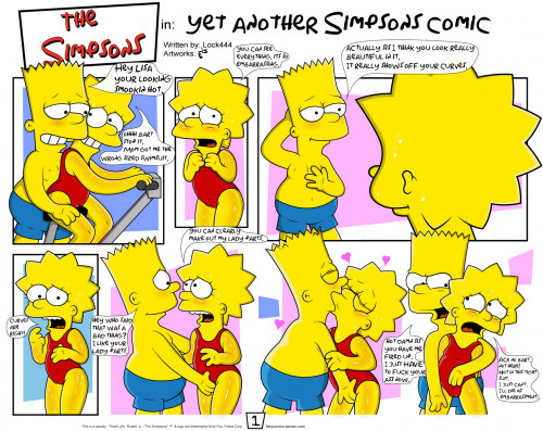 Simpson nude bart lisa sex simpsons