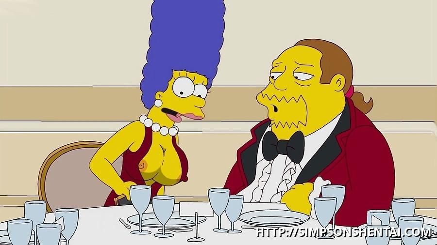 Boobs marge simpson Marge Hentai